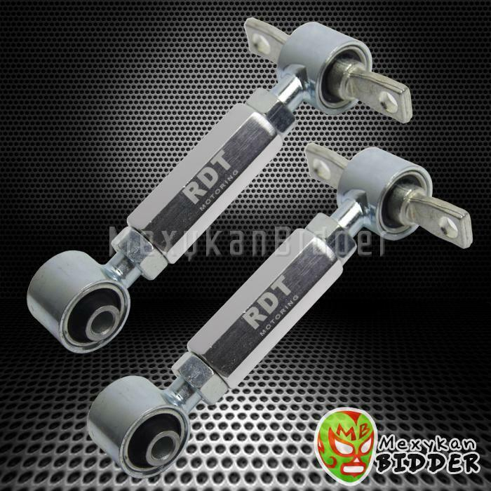 Polished Alunimun Suspension Rear Camber Kit Honda Civic