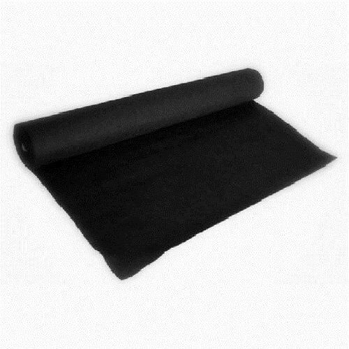 Absolute C15bk 15 Feet Long 4ft Wide Black Carpet For