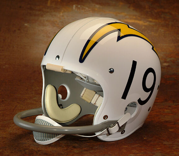 San Diego Chargers Football Helmet: SAN DIEGO CHARGERS #19 Football Helmet Stickers (NUMBERS