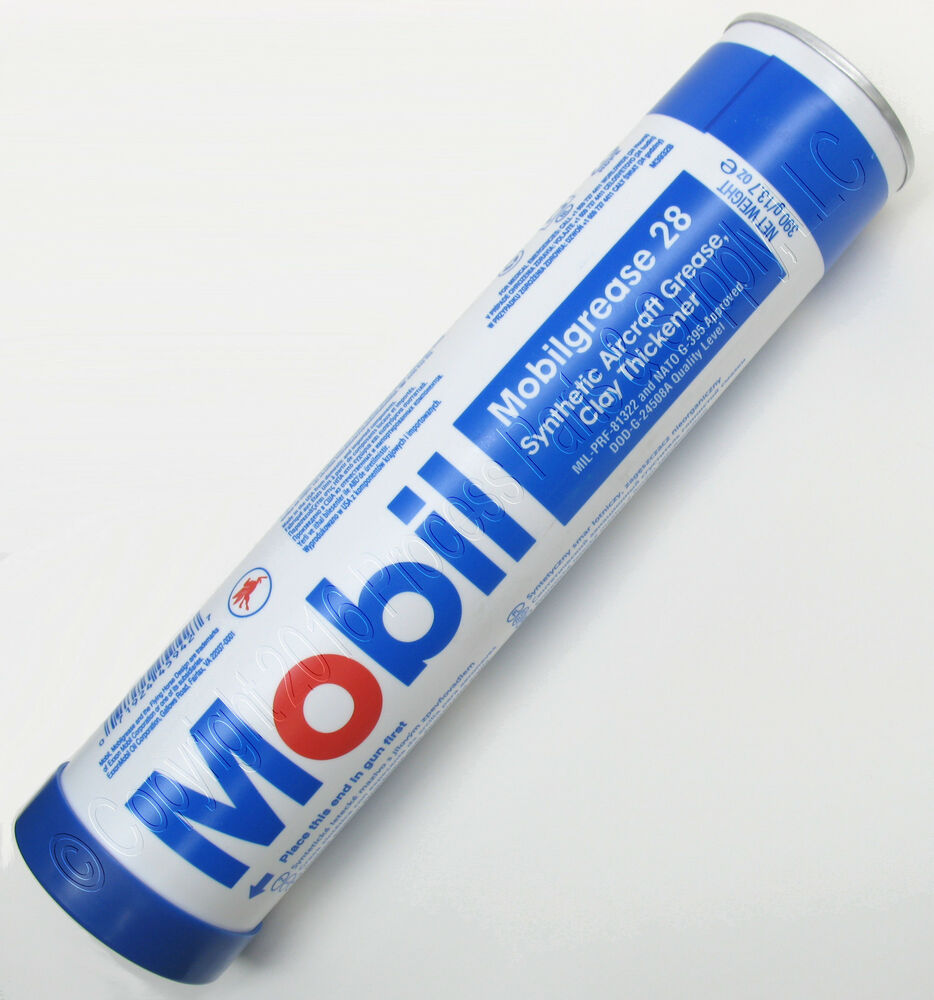 Mobil 1 Synthetic Grease >> 14oz CARTRIDGE MOBIL 28 Synthetic Grease Gunsmith Armorer Geissele Ruger Trigger | eBay