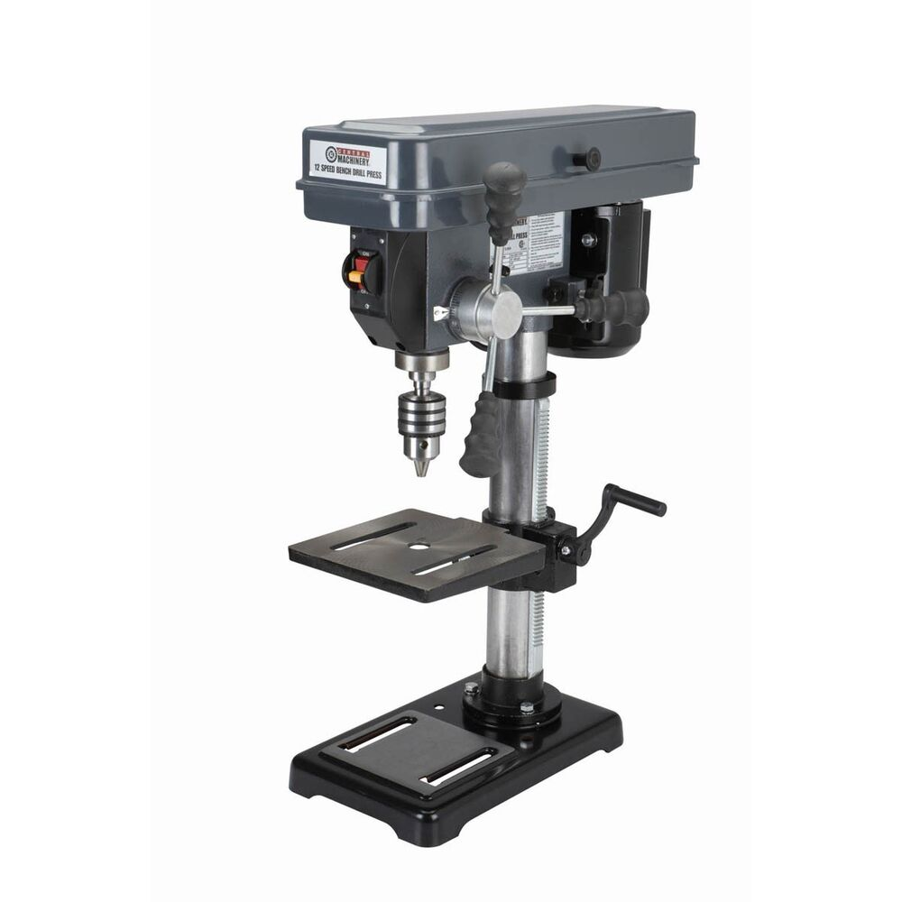 12 Speed Bench Top Drill Press Nib Free Fedex To Lower 48 States Ebay