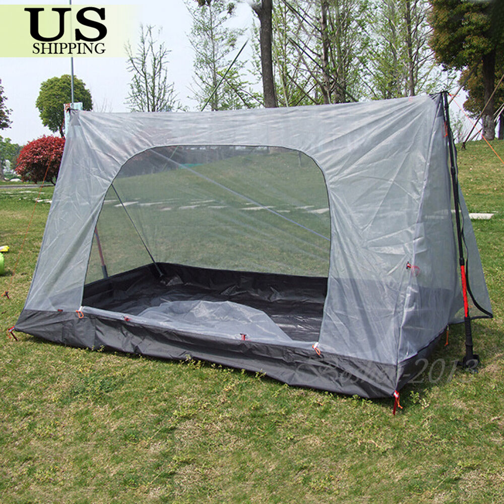 Hiking Camping: Mosquito Insect Net Backpacking Tent Outdoor Camping