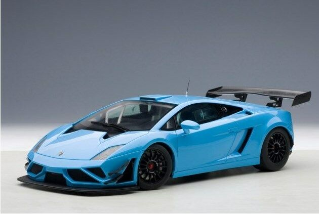 autoart 81359 1 18 lamborghini gallardo gt3 fl2 2013 blue ebay. Black Bedroom Furniture Sets. Home Design Ideas