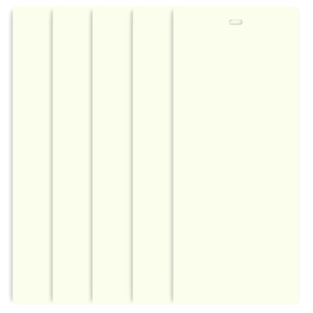 Vertical Blind Slats Vanes Replacement Blinds Off White 82