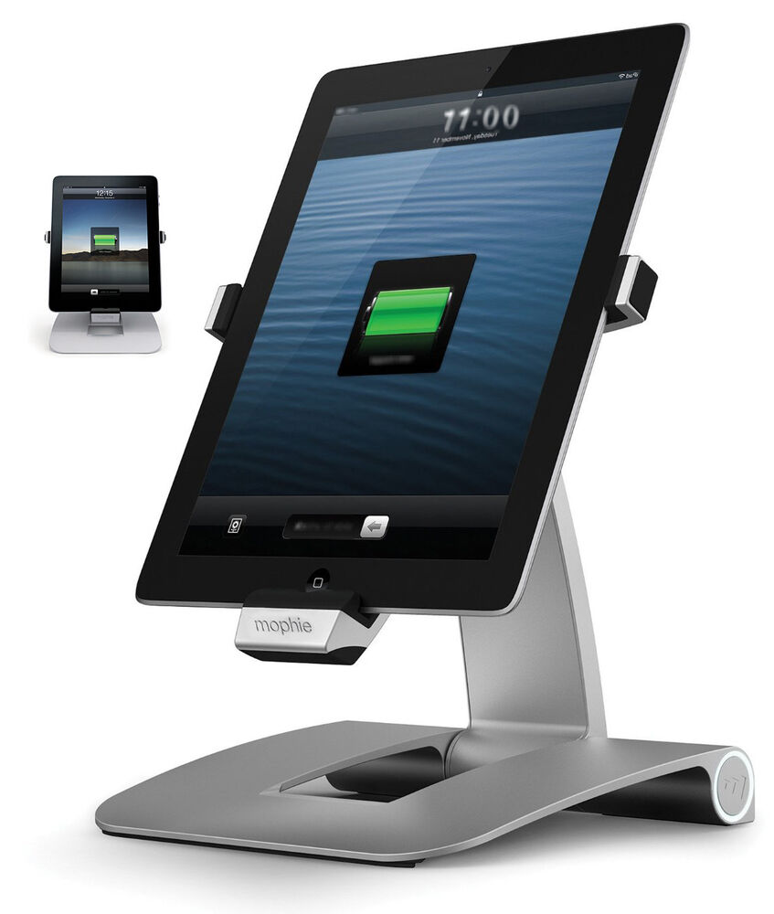 mophie powerstand charging station for ipad 4th generation ebay. Black Bedroom Furniture Sets. Home Design Ideas