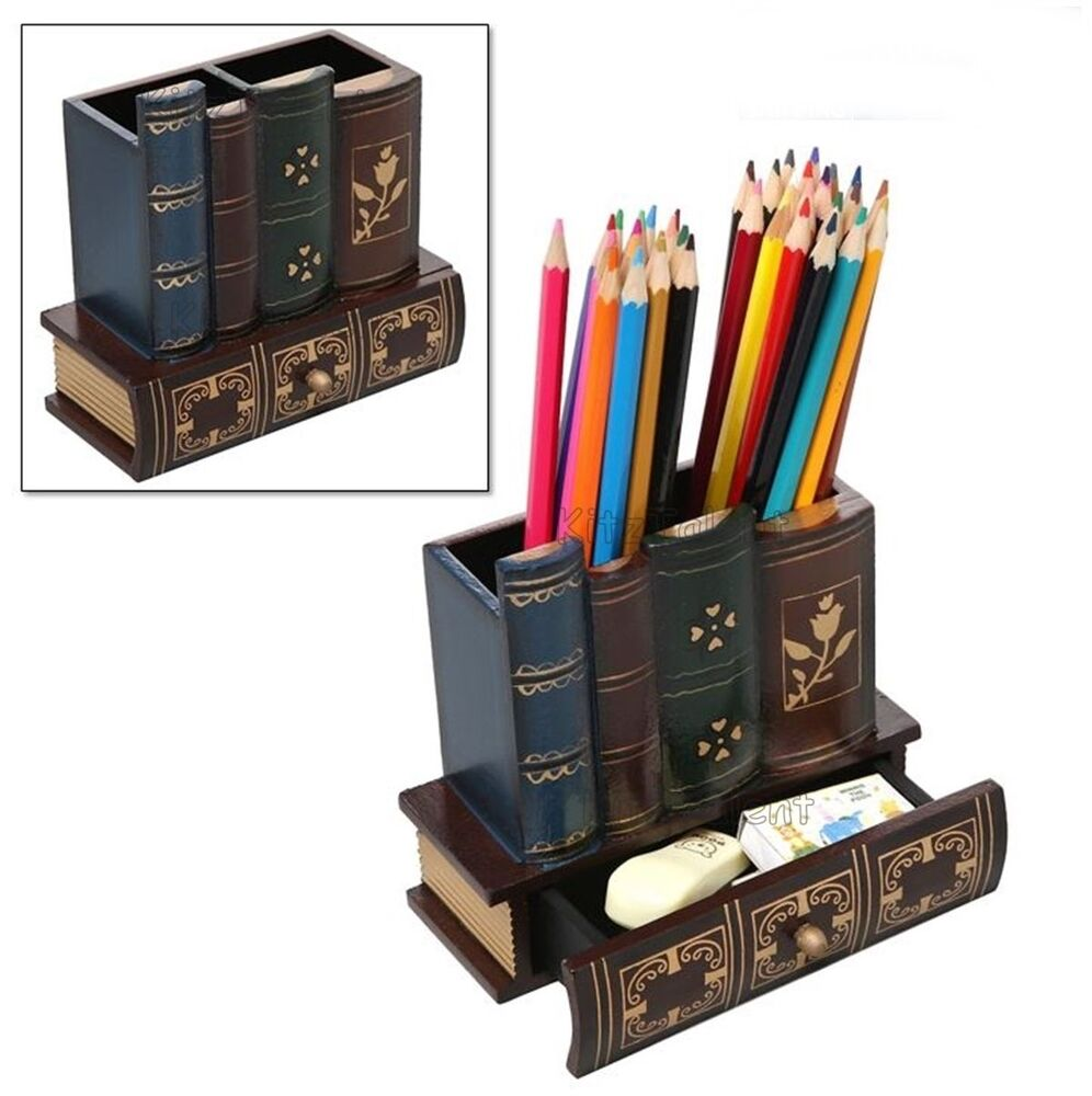 Home Office Desk Table Drawer Organizer Storage Stationery