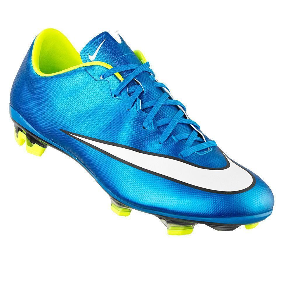 18cff34ad722 Details about NEW Women s Nike Mercurial Veloce II 2 FG Football Soccer  Cleats - Metallic Blue