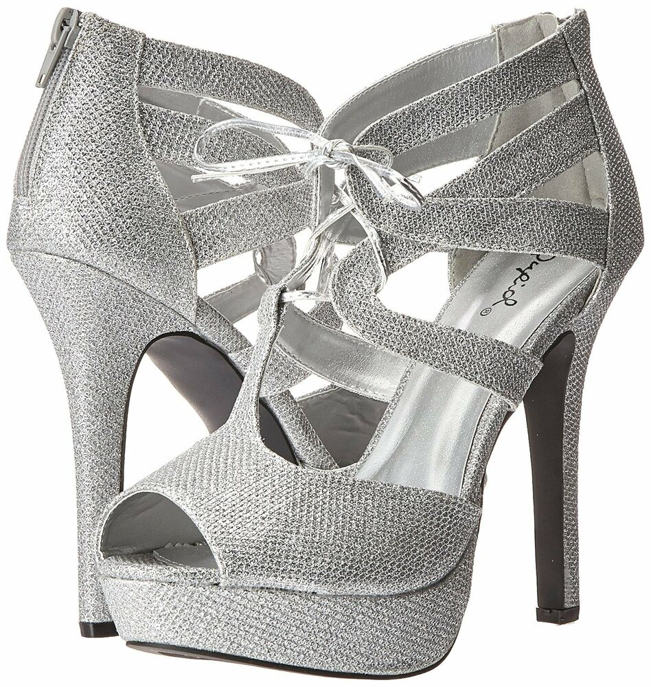 Bridal Shoes Dsw: Qupid High Heel Sandal Lace Up Platform Women's Bridal