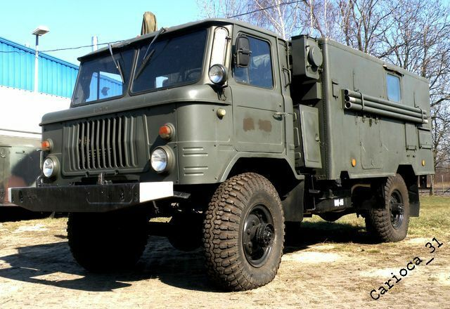 russian military truck gaz 66 from polish army original. Black Bedroom Furniture Sets. Home Design Ideas