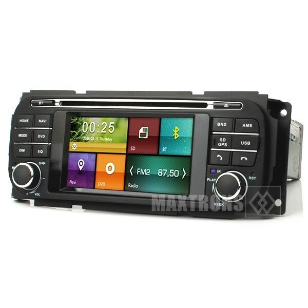 Vehicle Stereo Gps Navigation For Chrysler 300c Jeep Dodge: Car DVD Stereo Radio Navigation For Jeep Grand Cherokee