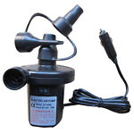 Portable DC 12V Electric Air Pump Inflator Deflate For Airbed Air Mattress Boat