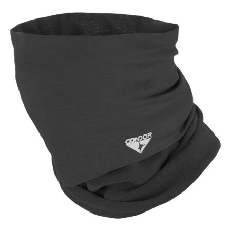 img-CONDOR FLEECE MULTI WRAP TACTICAL STRETCHABLE SCARF SECURITY FACE HEADWRAP BLACK