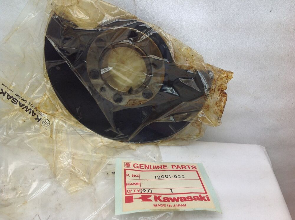 nos new oem kawasaki rotary disc valve f9 1972 1973 1974. Black Bedroom Furniture Sets. Home Design Ideas