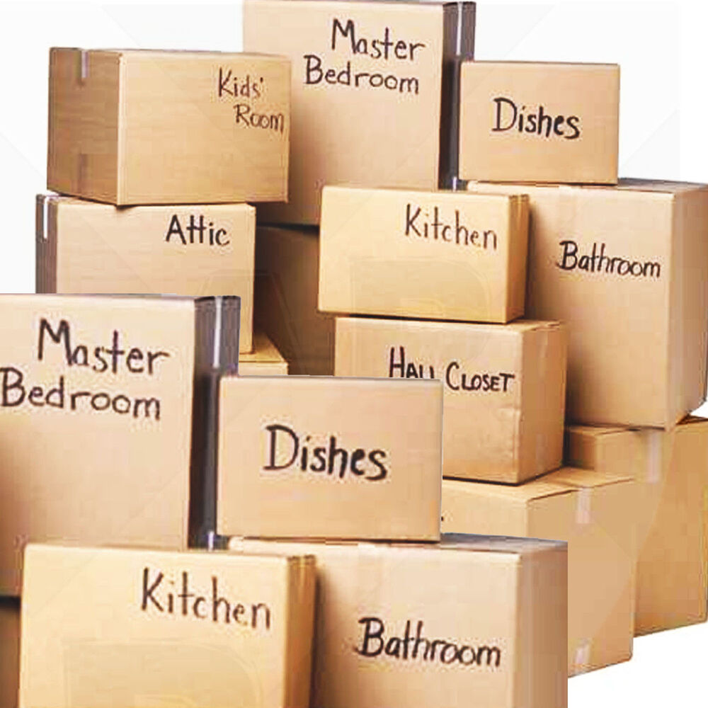 New 30 X Large Cardboard House Moving Boxes Removal