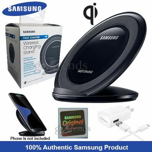 samsung wireless fast charge qi charging stand pad for. Black Bedroom Furniture Sets. Home Design Ideas