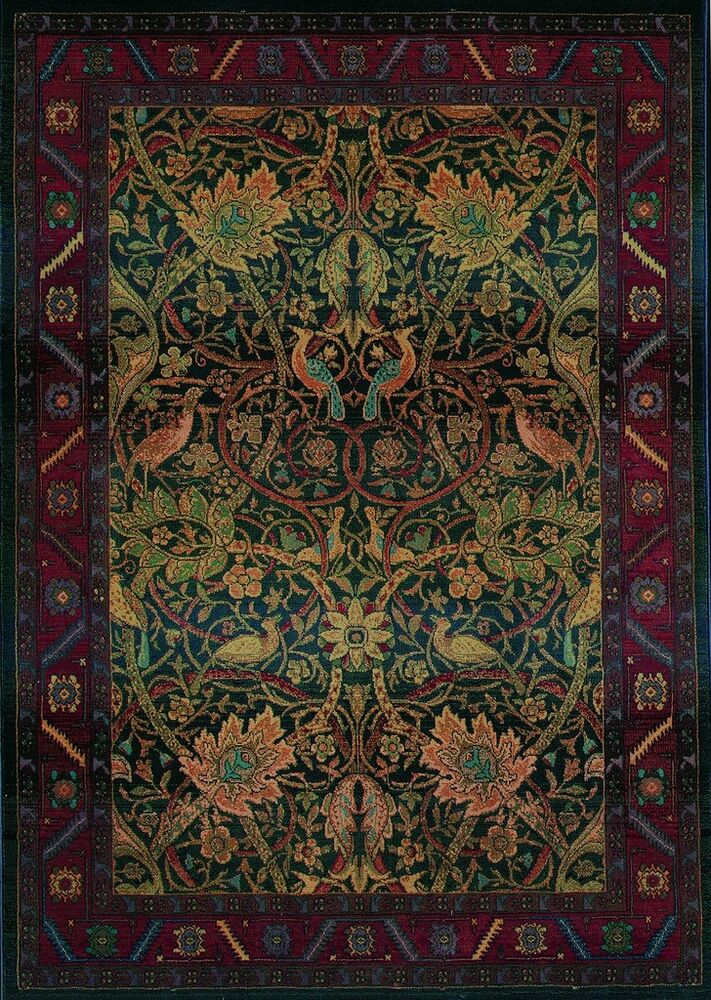 5x8 5 39 3 x 7 39 6 william morris arts crafts mission for Arts and crafts carpet
