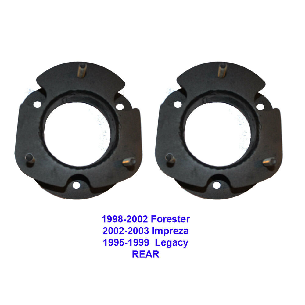 "2000 Subaru Forester Suspension: 3""Subaru Rear Lift Spacers 2002-07 Impreza,Outback,1998-02"