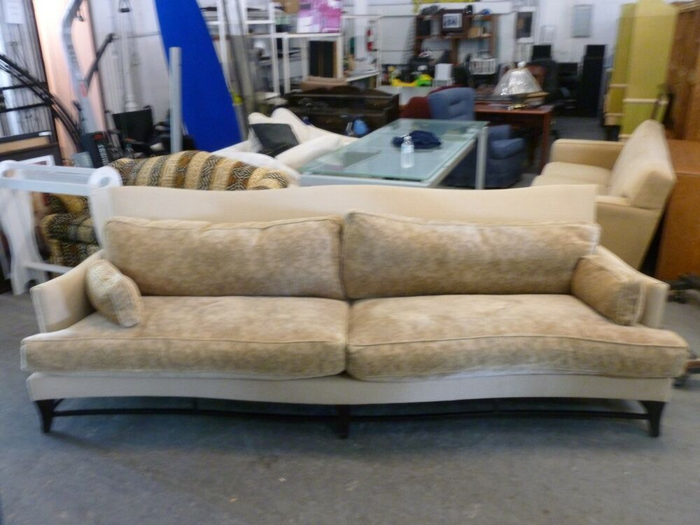 angelo donghia victorie serpentine sofa kosten ber 10k neu p ebay. Black Bedroom Furniture Sets. Home Design Ideas