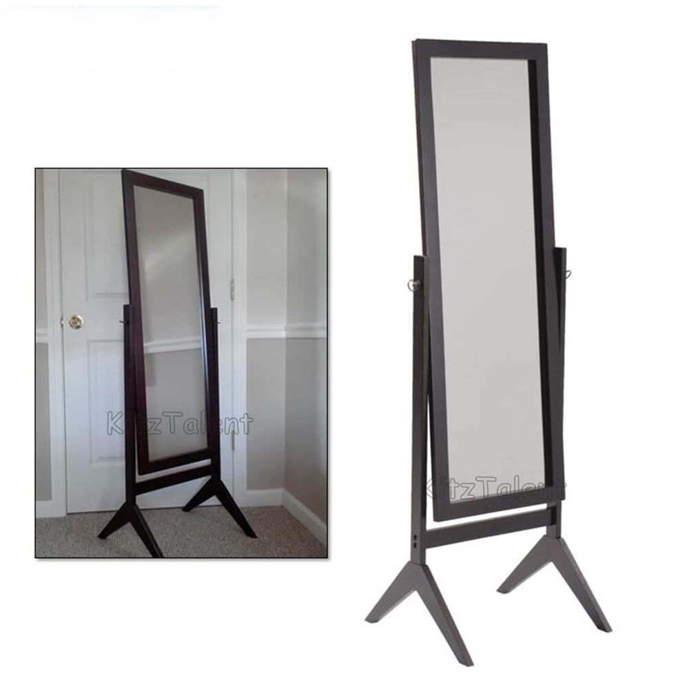 floor full length large vanity mirror cheval free standing