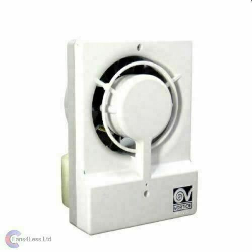 "Vortice Record Extractor Bathroom Wall Fan M10/4T 4"" 100mm With Timer - 11630"