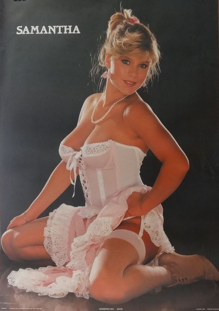 Nude samantha fox topless poster