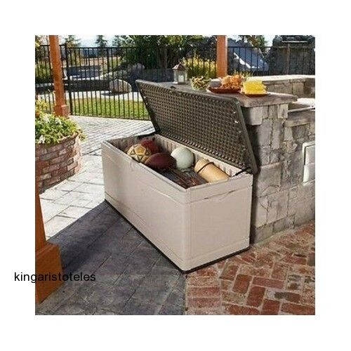 Patio Storage Box Extra Large Outdoor Garden Furniture