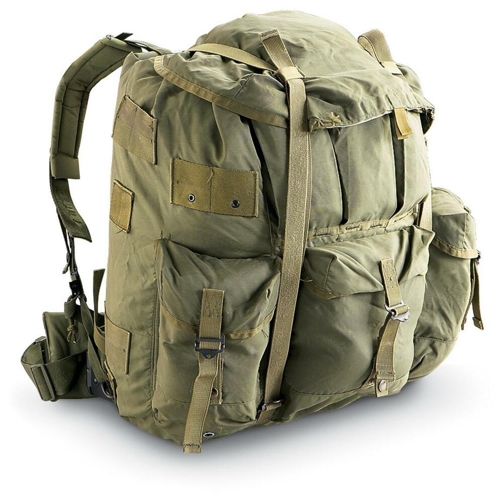 Us Alice Pack Large Genuine Backpack Army Field Bag Ebay
