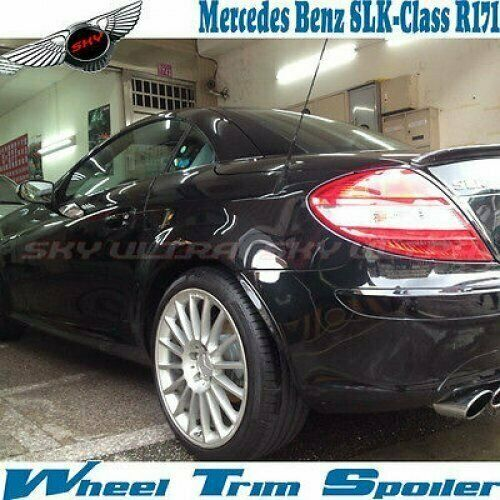 Unpainted For Mercedes Benz R171 Convertible Wheel Trim