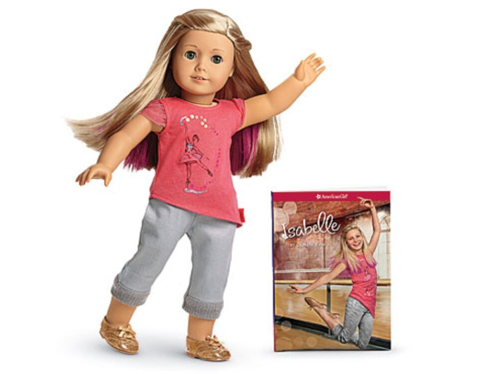 american girl isabelle 2014 doll of the year doll book brand new retired ebay. Black Bedroom Furniture Sets. Home Design Ideas