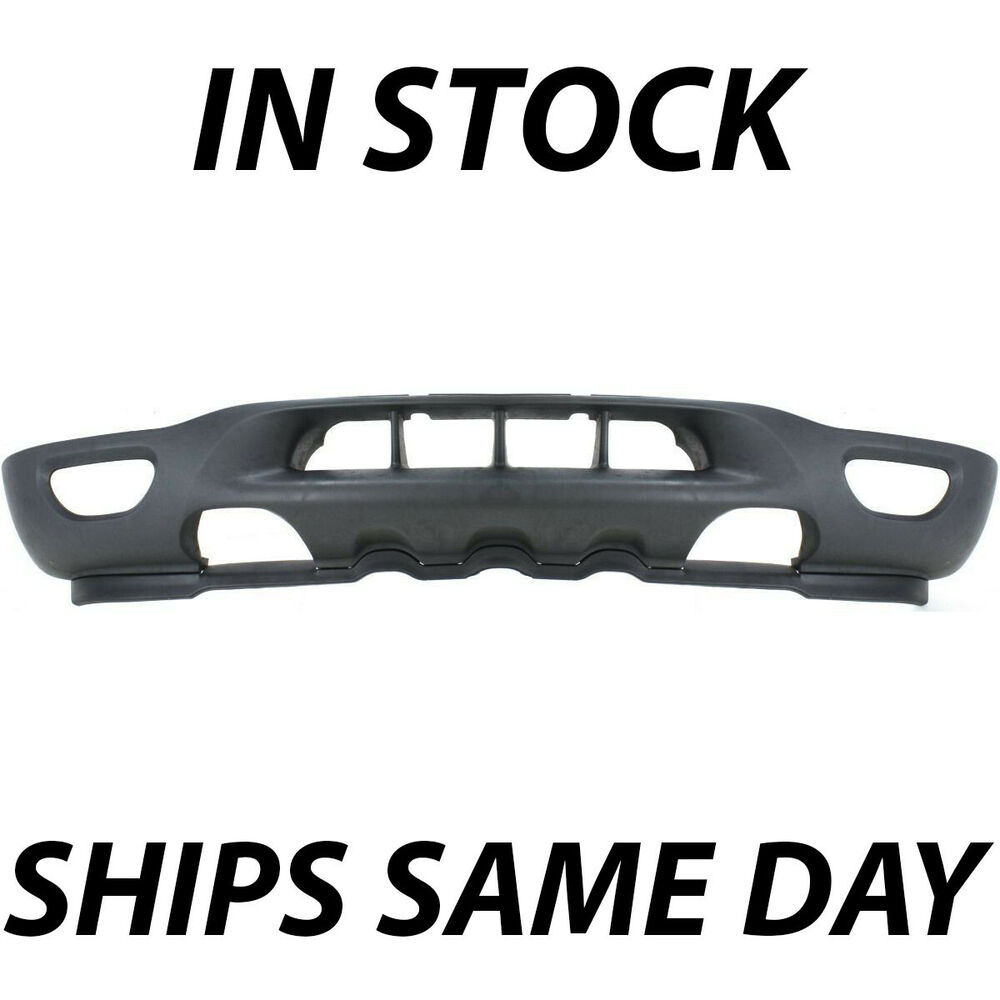 2014 F150 Accessories >> Textured - Front Bumper Valance Expedition For 1999-2002 Ford F150 Tow/Fog Holes | eBay