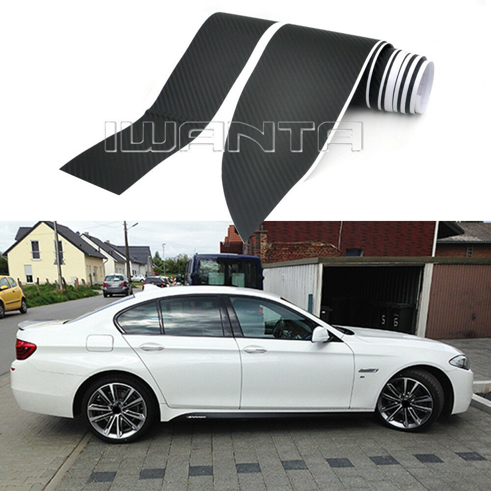 4-Colors M Performance Side Skirt Stripe Sticker For BMW 4
