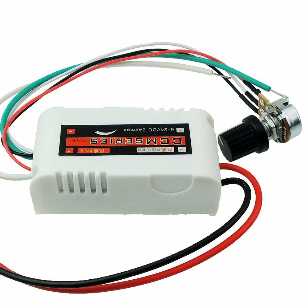 Ccmfc 12v 2a Dc Motor Speed Controller Adjustable Variable