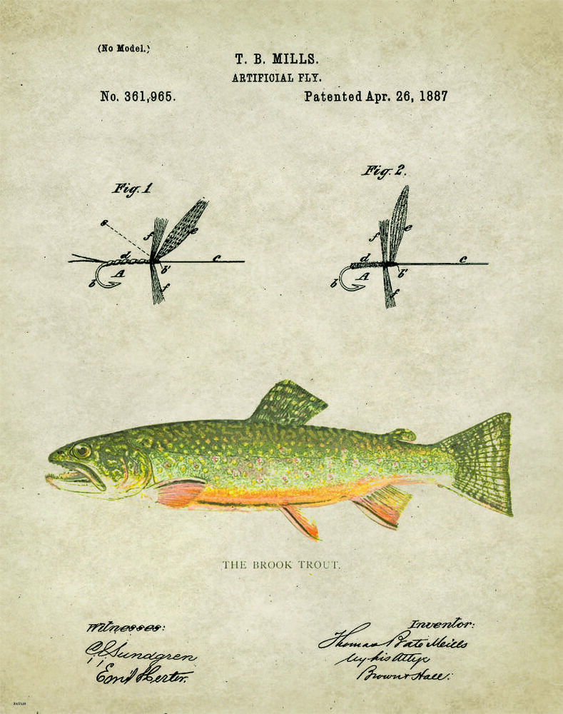 Fly fishing fly drawings - photo#55