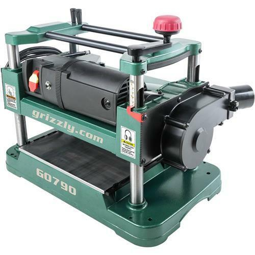 G0790 grizzly 12 1 2 benchtop planer with dust collection ebay Bench planer