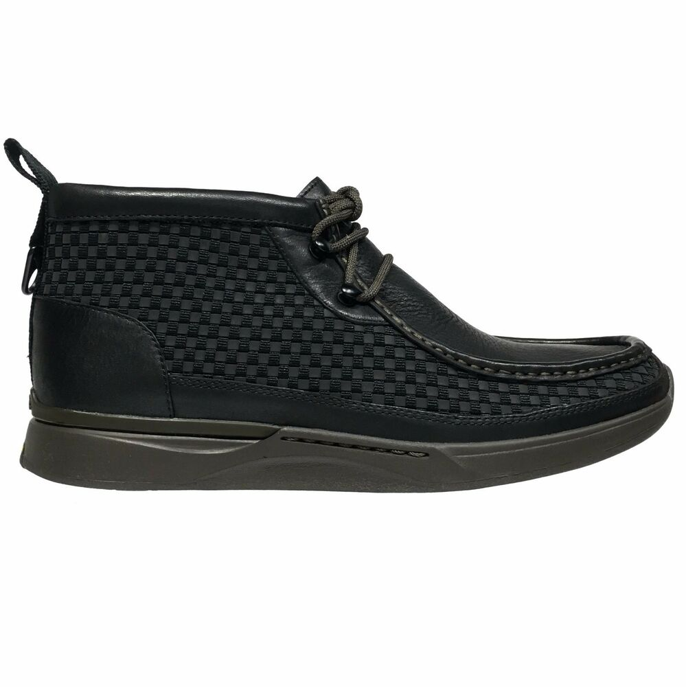 clarks tawyer stealth s leather vibram casual moc toe