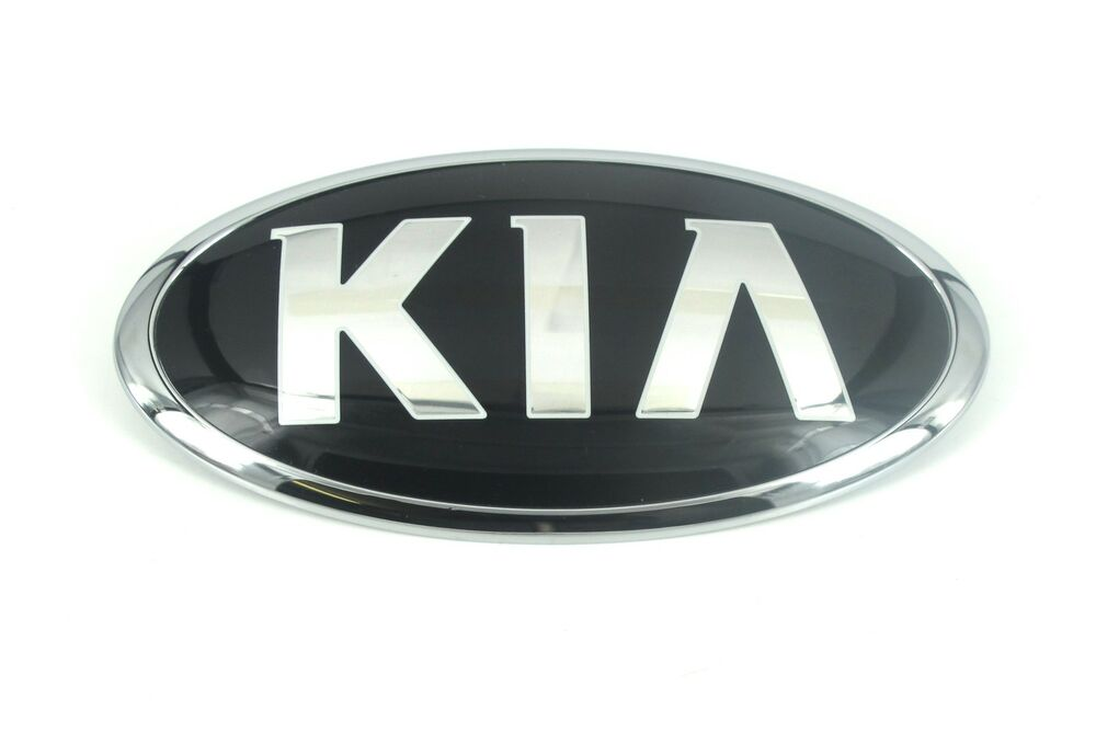 kia abzeichen motorhauben hood vorderes emblem for sedona. Black Bedroom Furniture Sets. Home Design Ideas