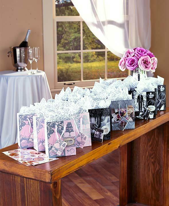 Wedding Gift Wrap Bags : Wedding Gift Wrap Essentials~ 48-Pc. Gift Bag Set ~ Party Present ...