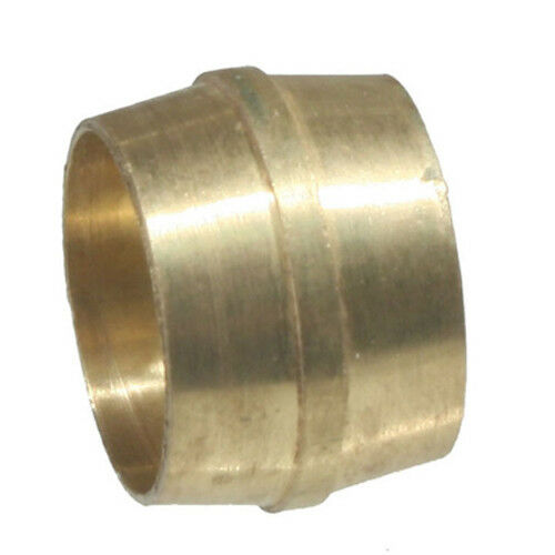 Dot nylon air brake tube brass fitting sleeves