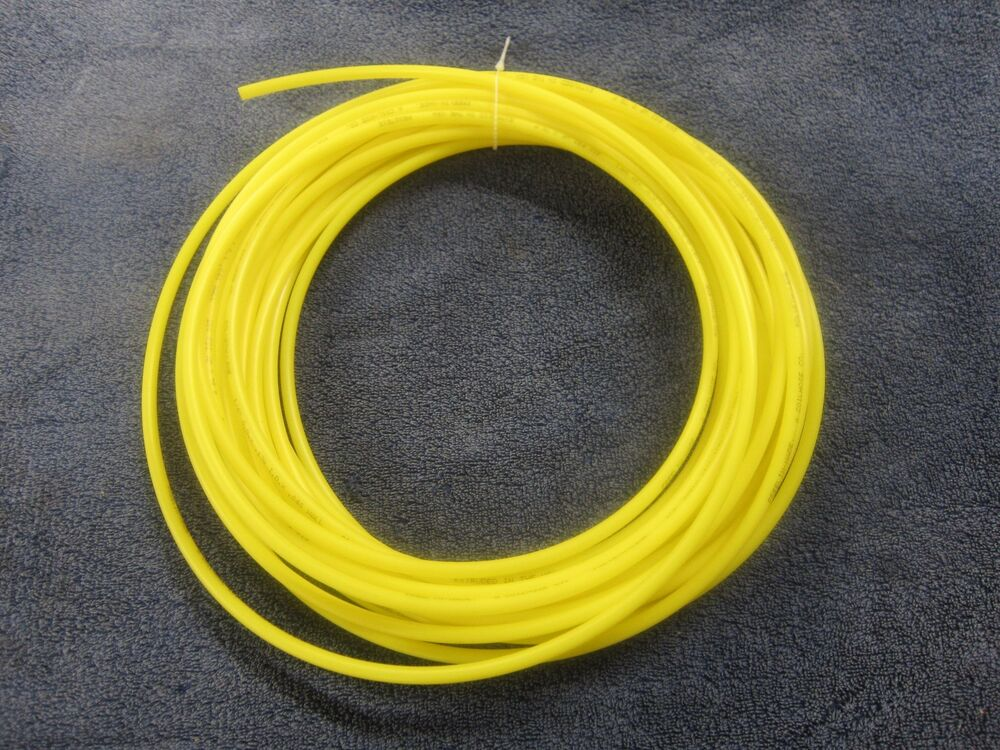 Quot pneumatic polyethylene tubing for push to connect