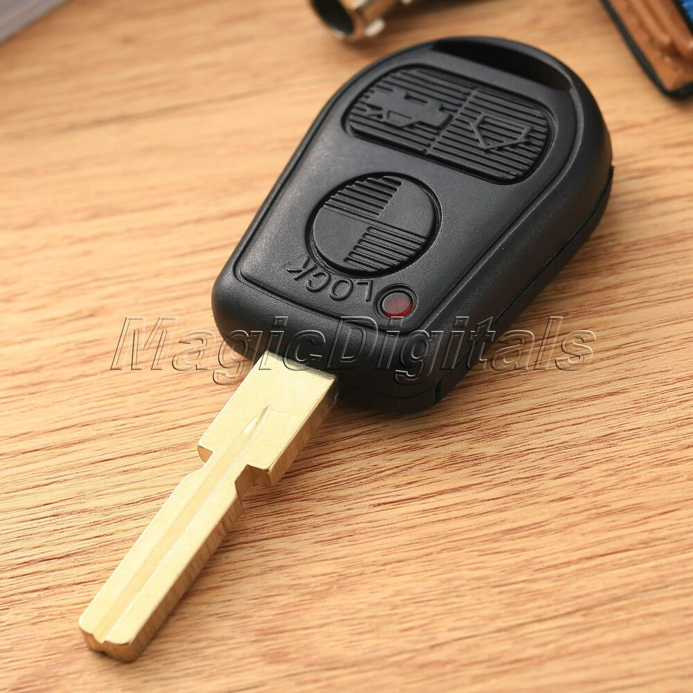 Replacement Remote Key Fob Case Shell 3bt F Bmw 3 5 7 Series Z3 E46 E39 E38 E36 Ebay