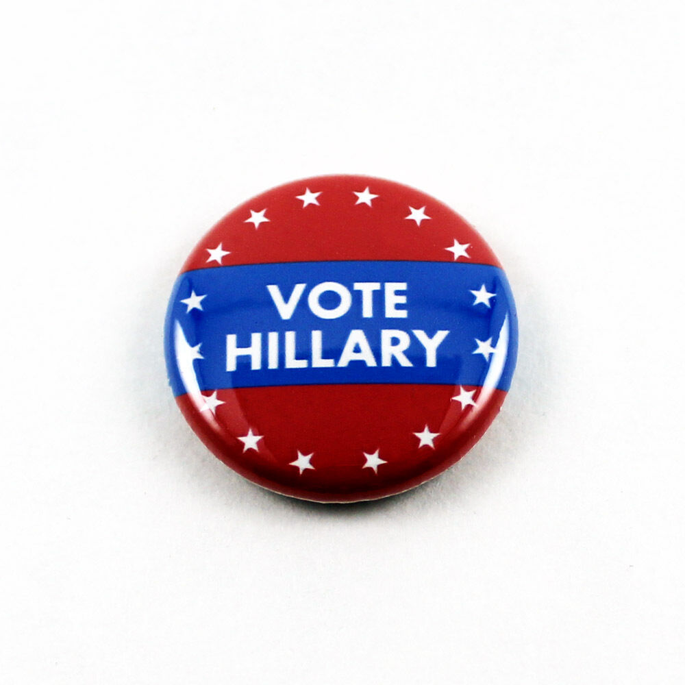Pin On Campaigns: Hillary Clinton 1 Inch Pinback