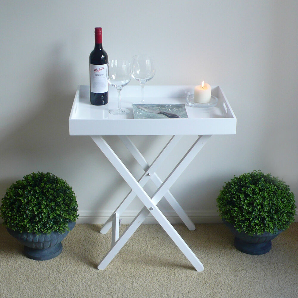 Hamptons French Coffee Table: White Butlers Tray Table Hamptons Beach French Provincial