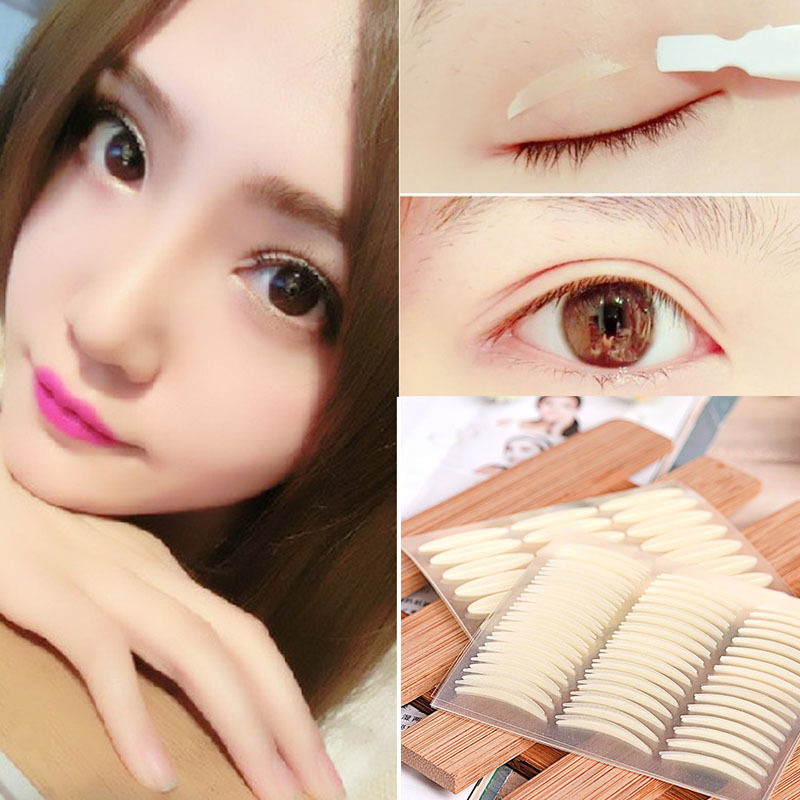 168pair Invisible Wide Narrow Double Eyelid Tape Sticker