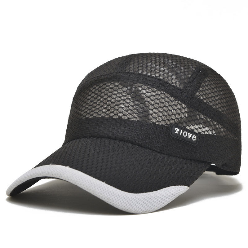 Fashion Cool Mens Outdoor Sports Baseball Cap Flat-Brimmed ...