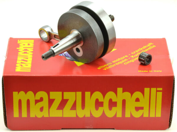 Mazzucchelli Crankshaft competition round flywheels for Vespa 50 PK - AMT158VT