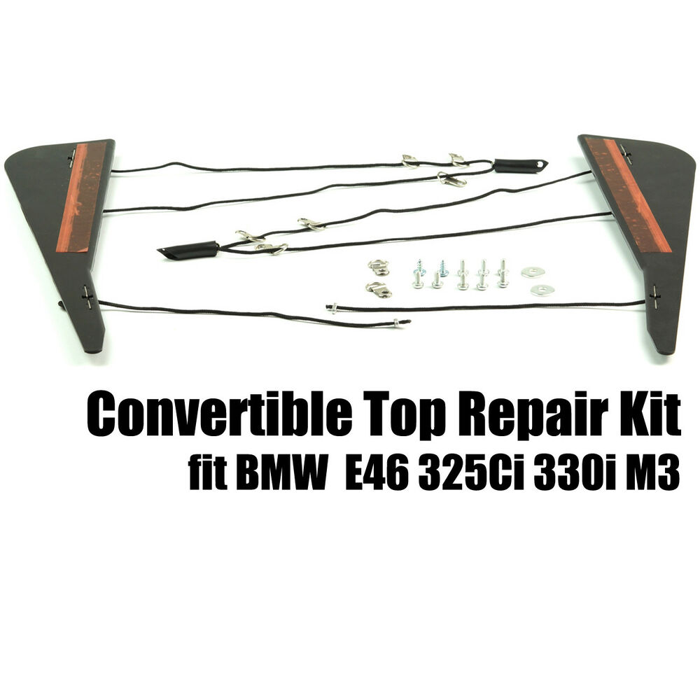 New Fits BMW Convertible Top Repair Kit C Column E46 325Ci