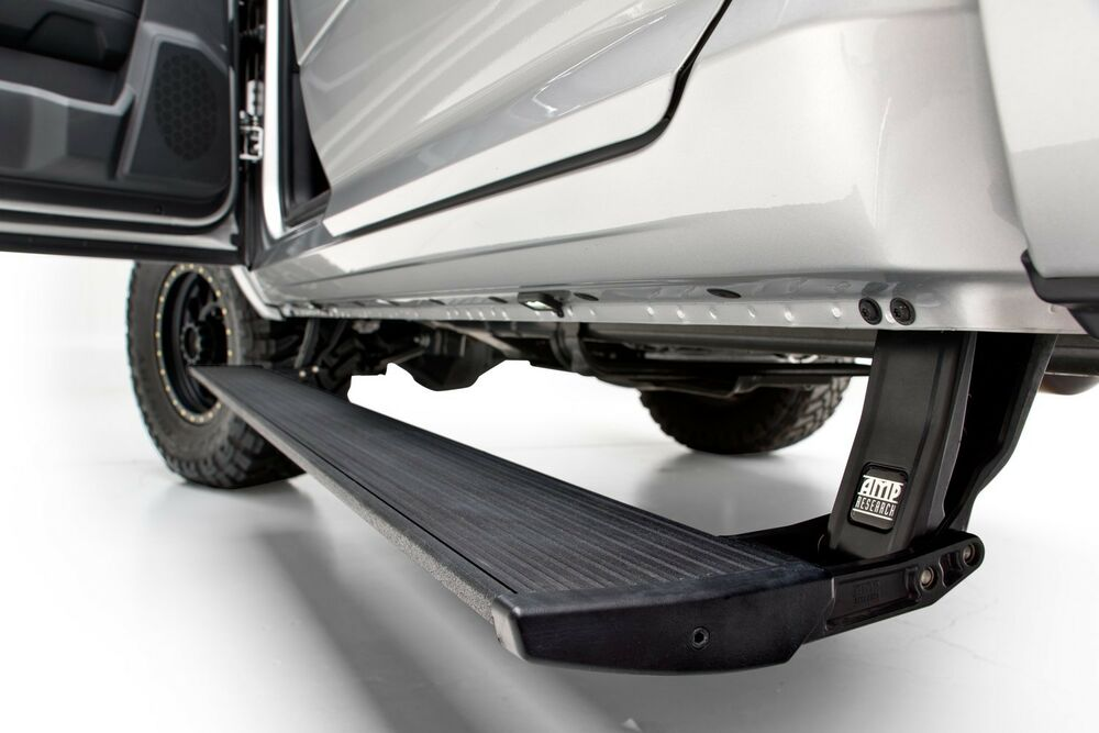 Amp Research Running Board Power Steps 2009 2015 Dodge Ram