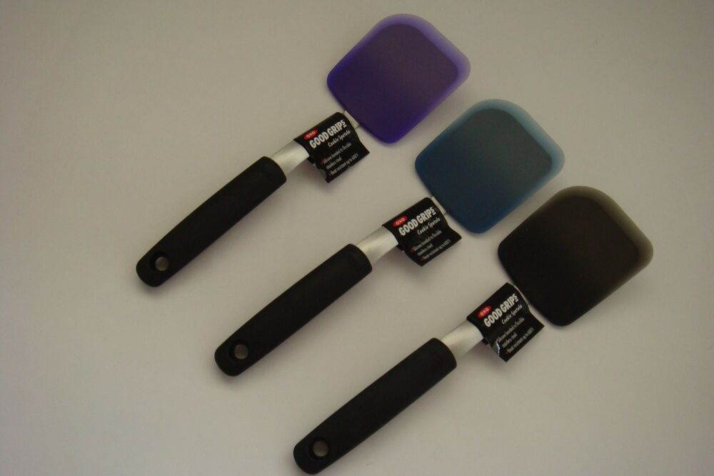 New Oxo Good Grips Silicone Cookie Spatula Flexible Turner