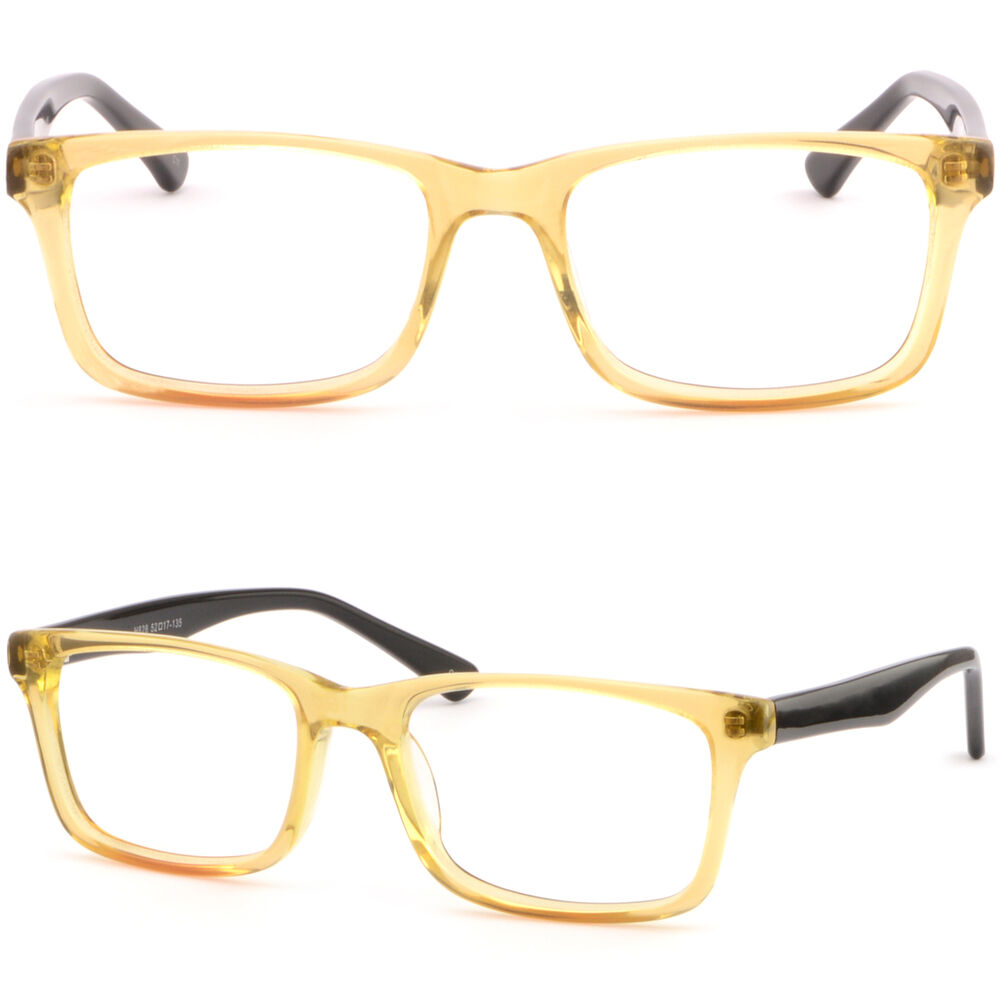 Strong acetate plastic womens mens frame prescription for How strong is acrylic glass