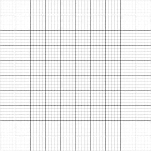 X Grid  Graph Paper A Size Metric Mm Mm Mm Squares On